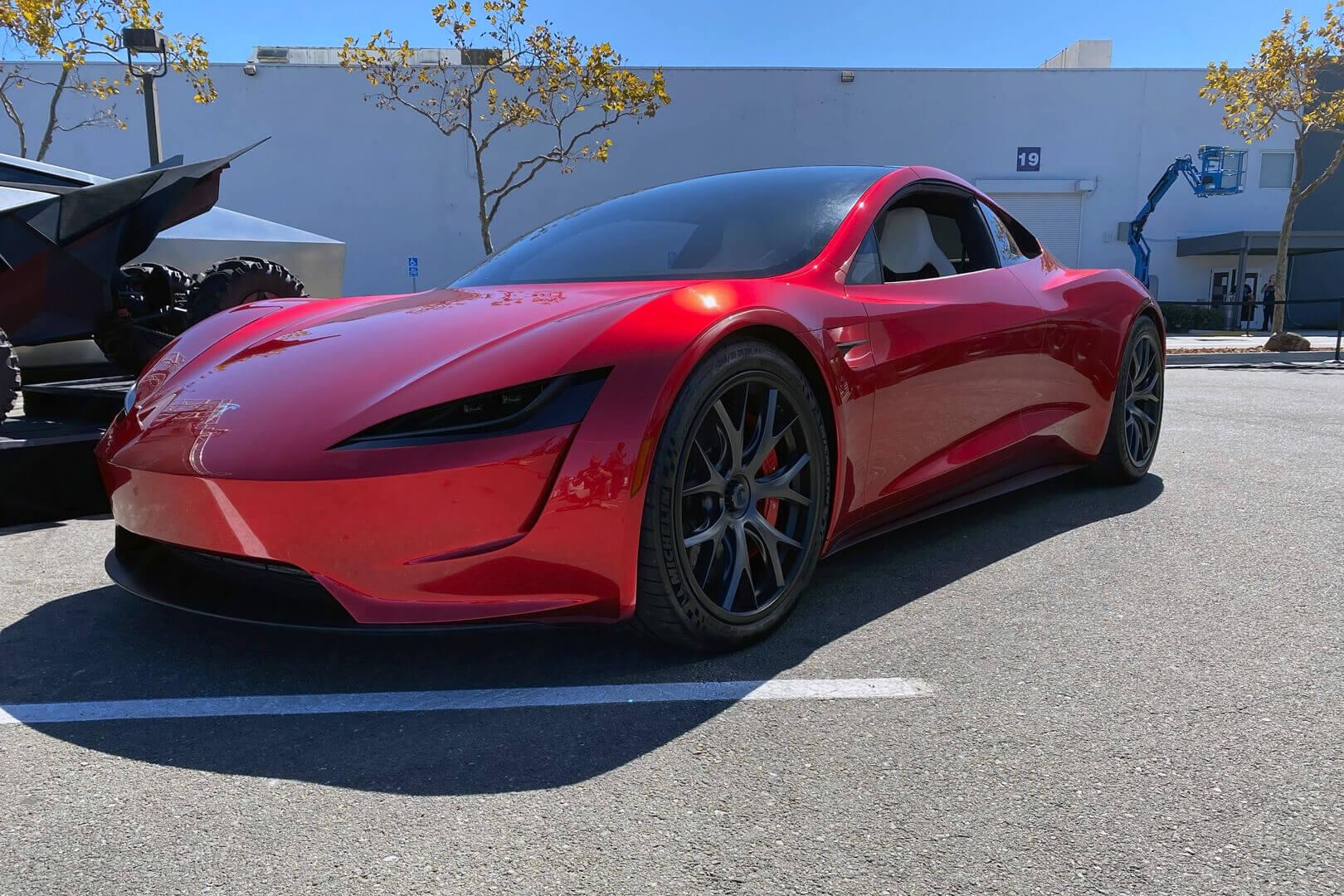 Tesla Roadster на Battery Day