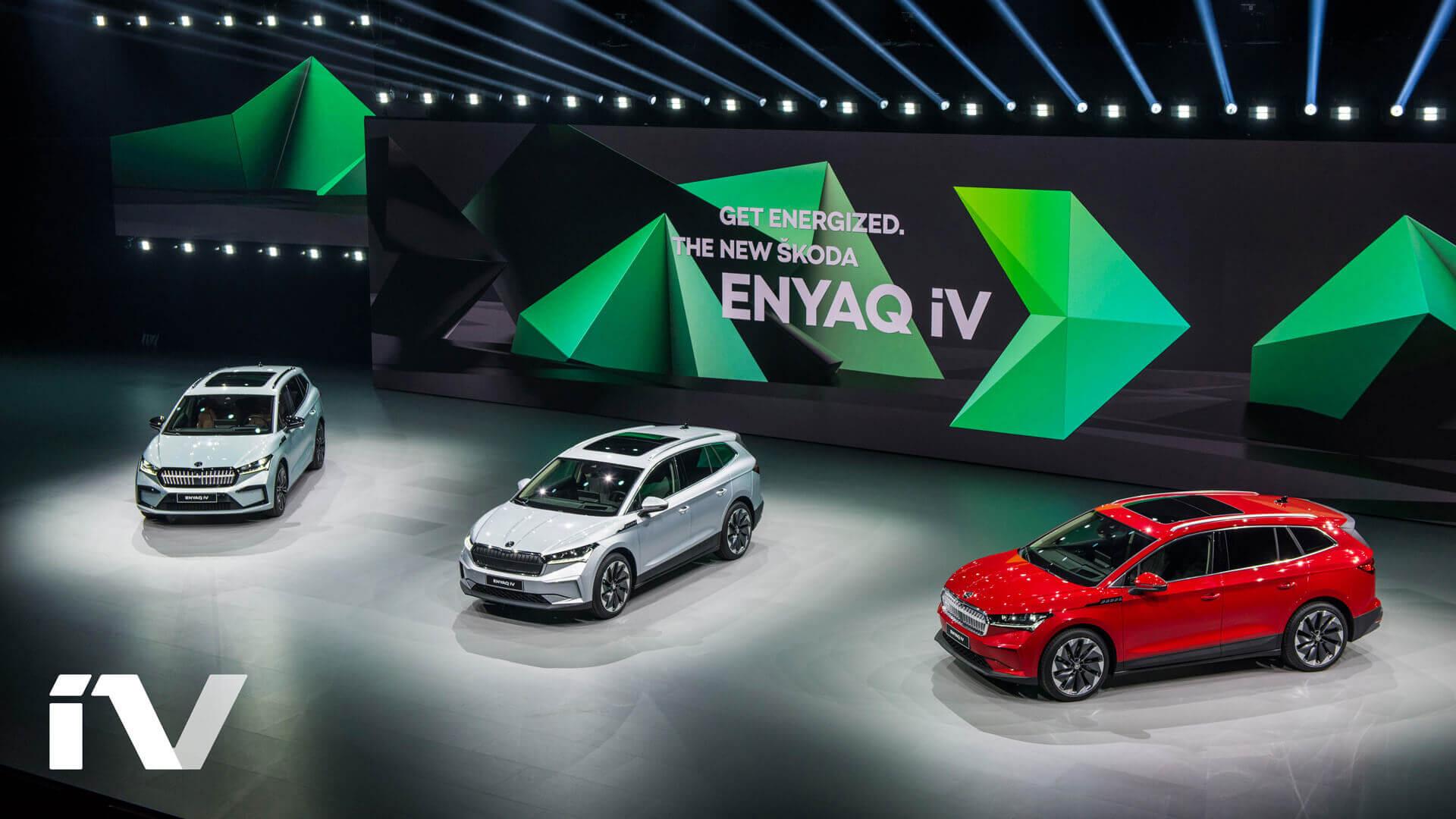 ŠKODA ENYAQ iV будет доступен с тремя батарейными блоками (55, 62 и 82 кВт⋅ч)