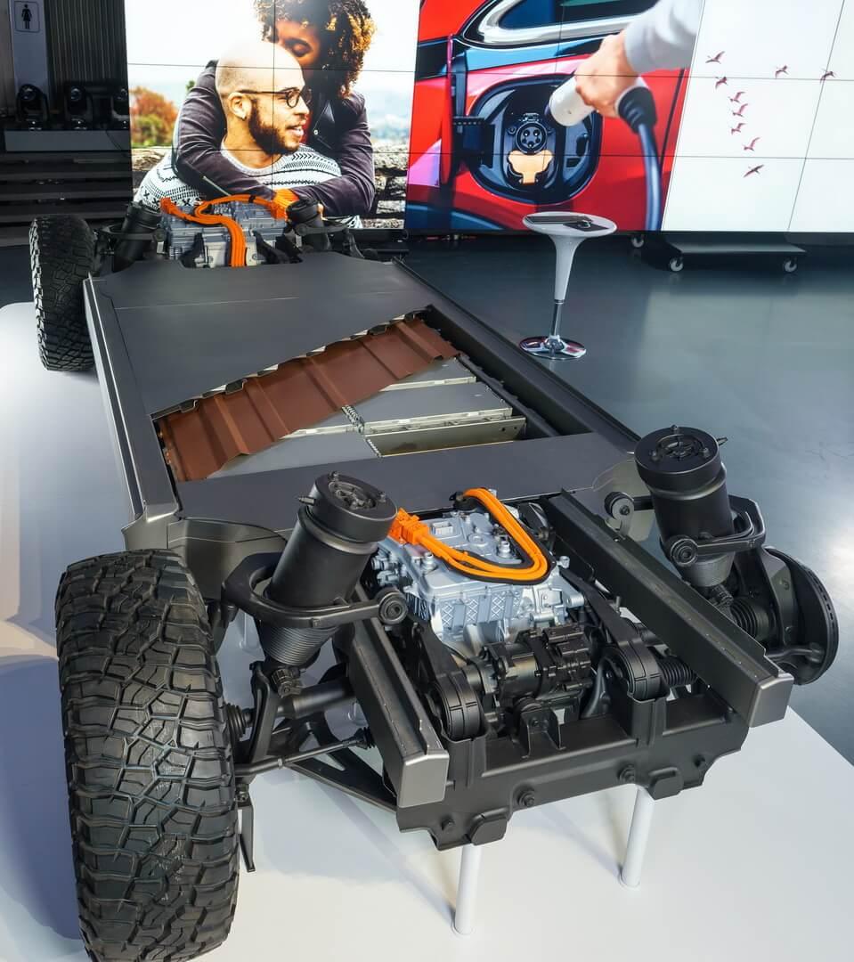 Модульная платформа General Motors и новая система аккумуляторов Ultium