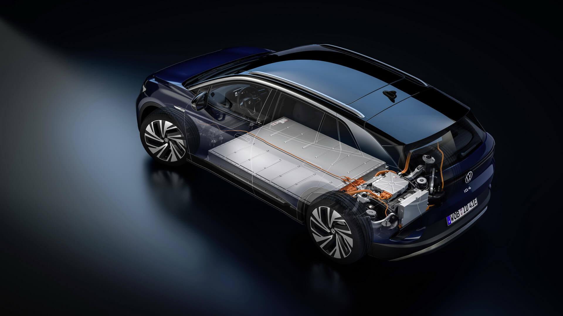 Второй серийный электромобиль Volkswagen на платформе MEB