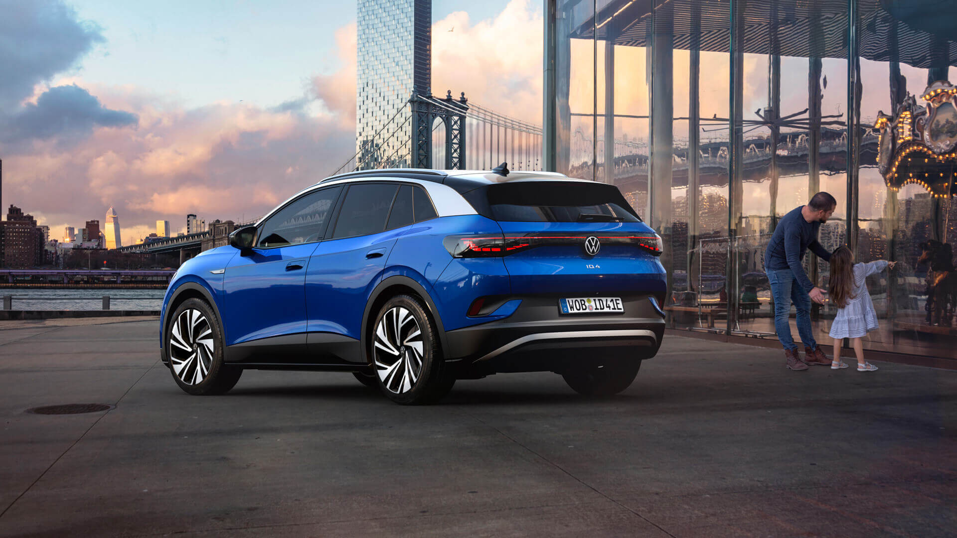 Volkswagen представил электрический кроссовер ID.4 с запасом хода до 520 км