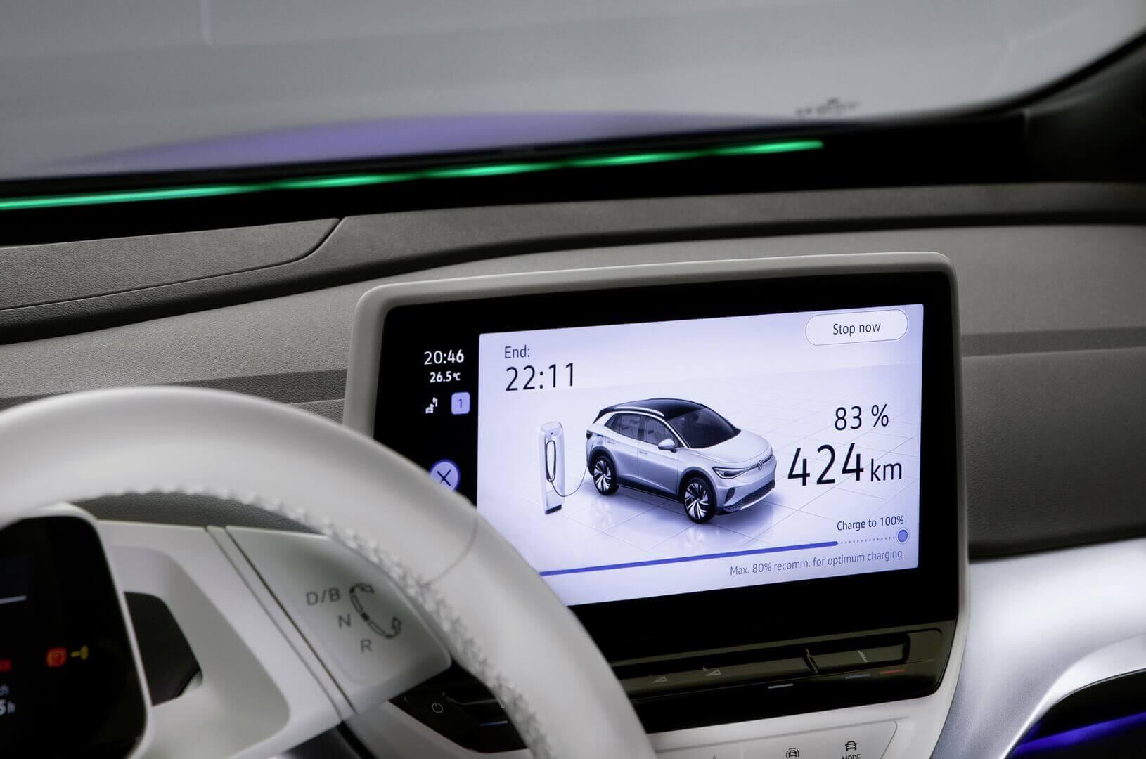 Информационно-развлекательная система Volkswagen ID.4
