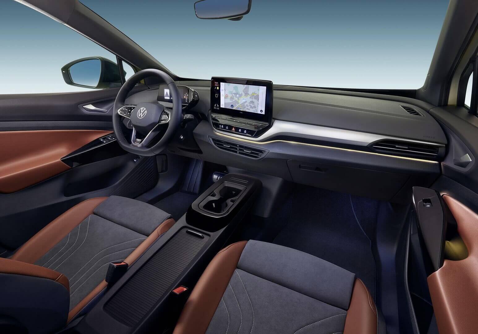 Салон электрокроссовера Volkswagen ID.4