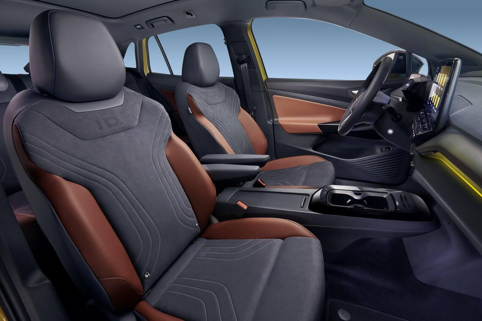 Передний ряд сидений Volkswagen ID.4