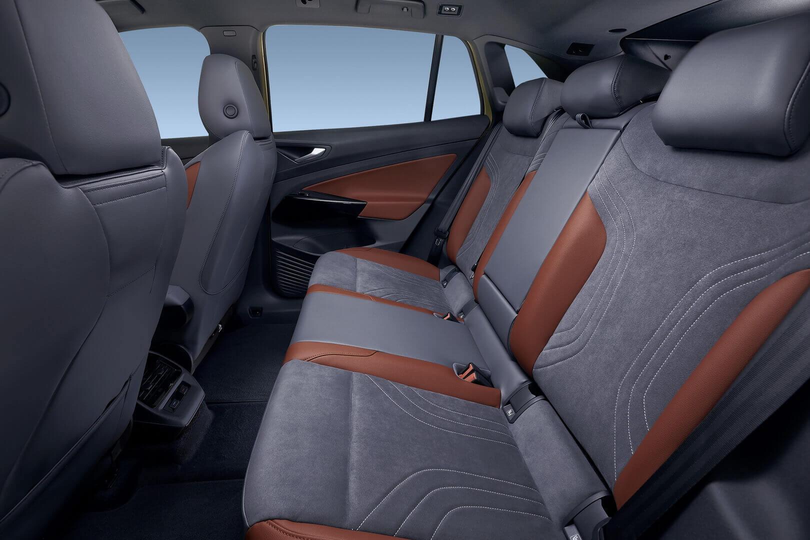 Задний ряд сидений Volkswagen ID.4