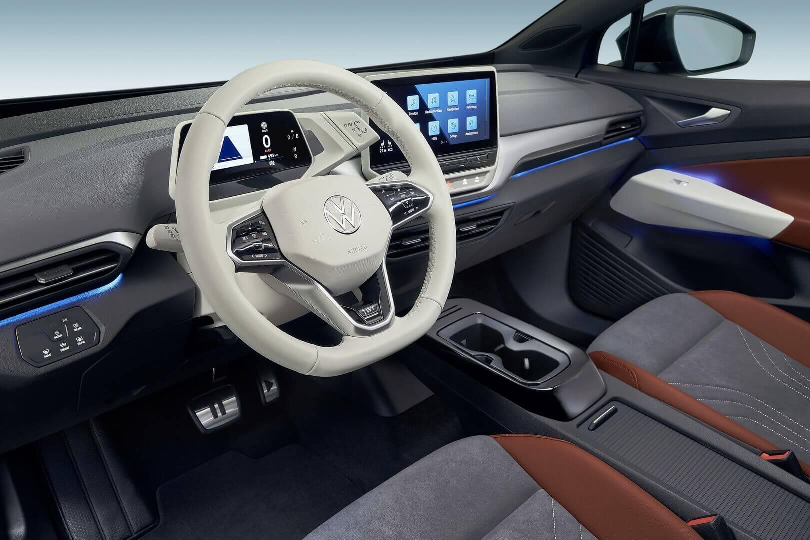 VW анонсировал первое удаленное обновление ПО электрокаров ID
