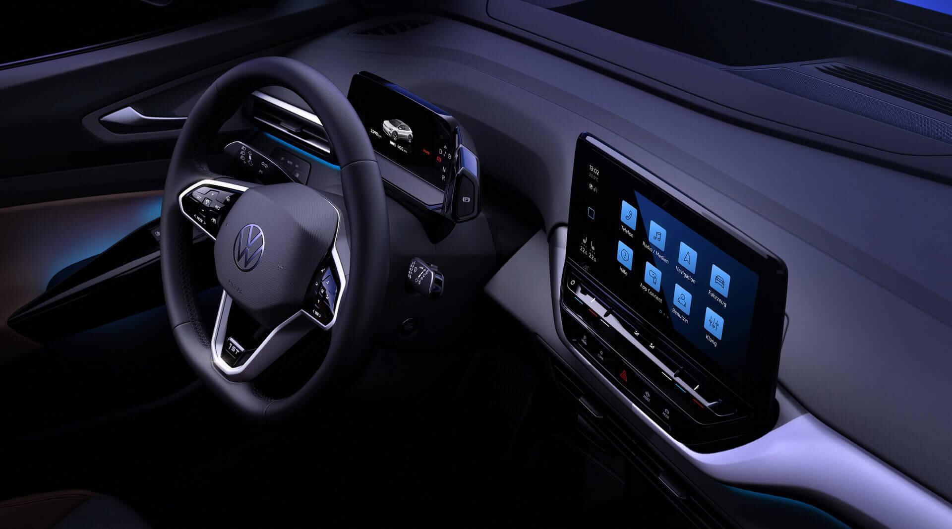 Интерьер Volkswagen ID.4