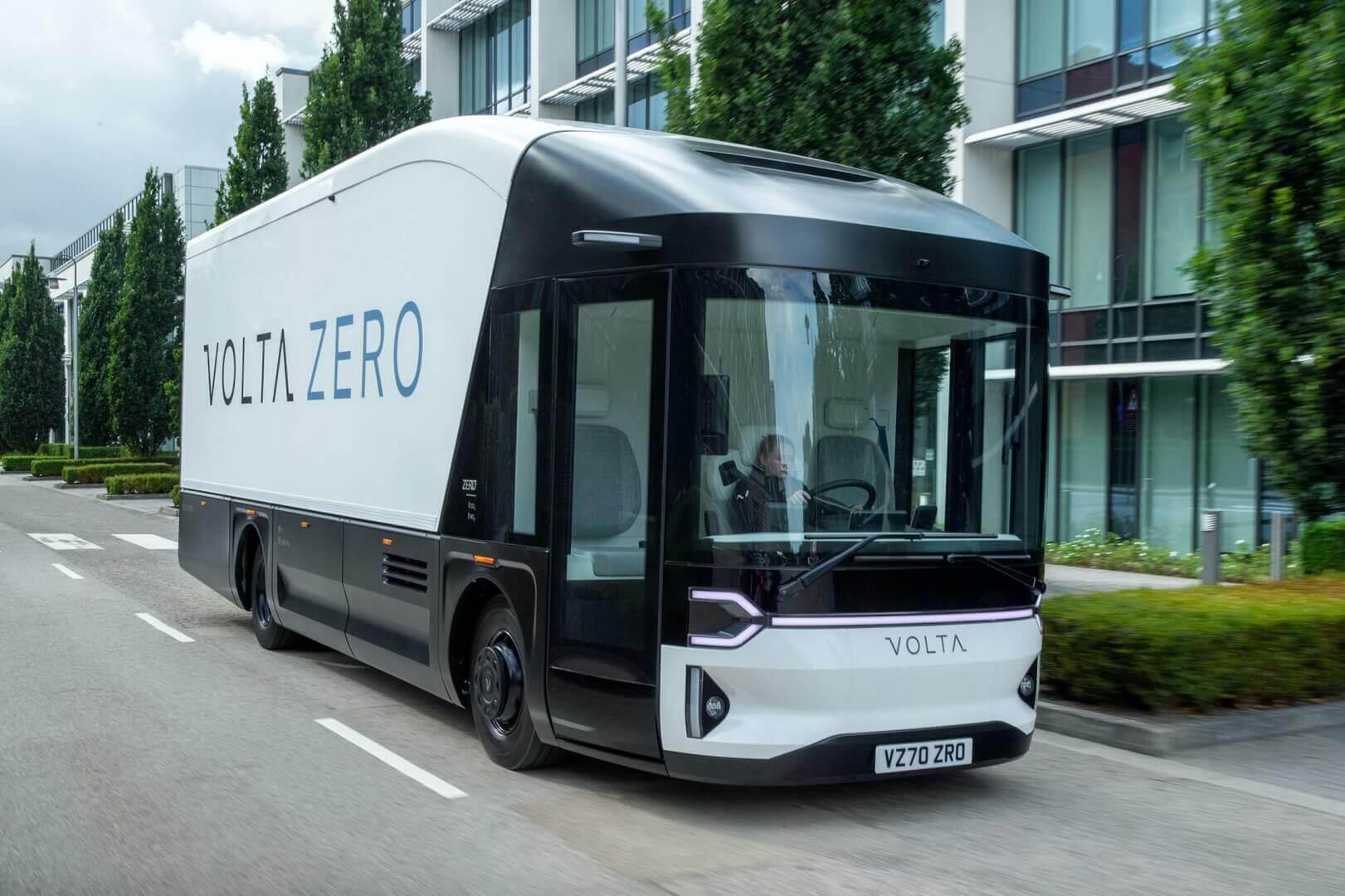 Электрический грузовик Volta Zero