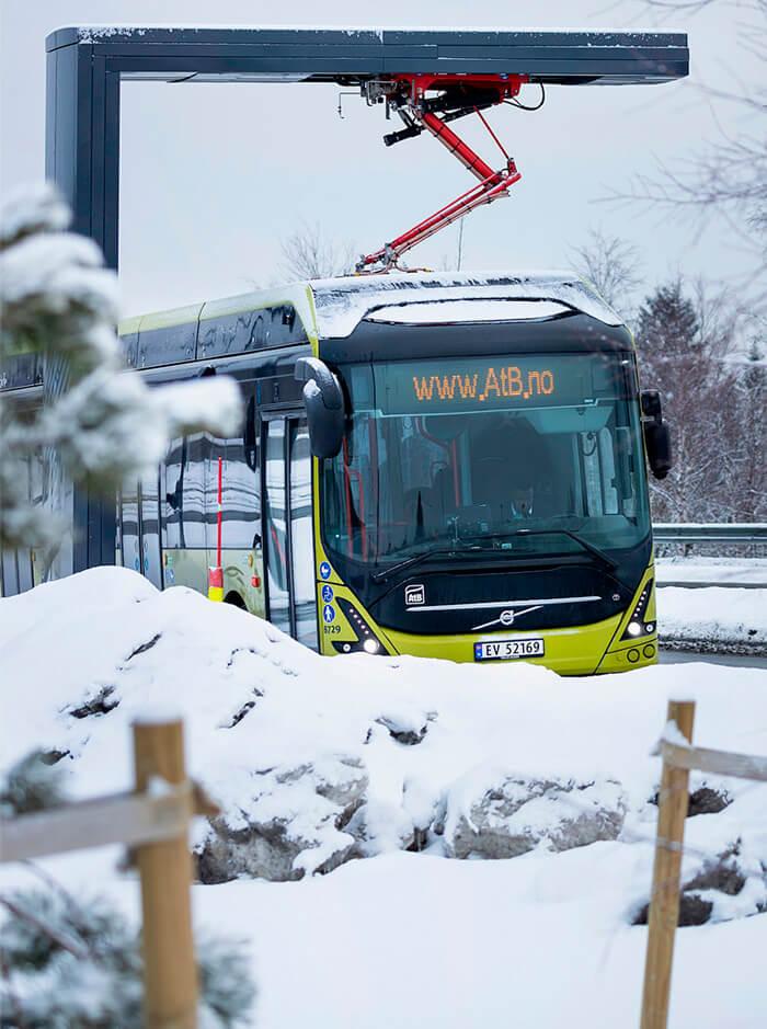 Volvo поставит электробусы самому северному оператору в мире