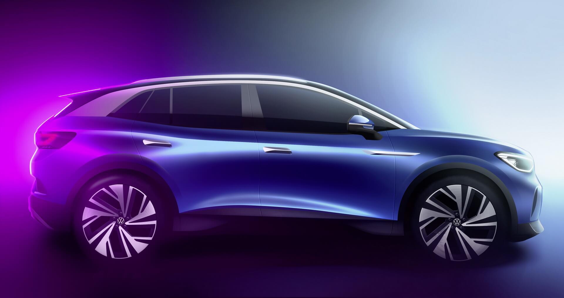 Полностью электрический кроссовер Volkswagen ID.4 будет производиться и продаваться в Европе, Китае, а затем и в США