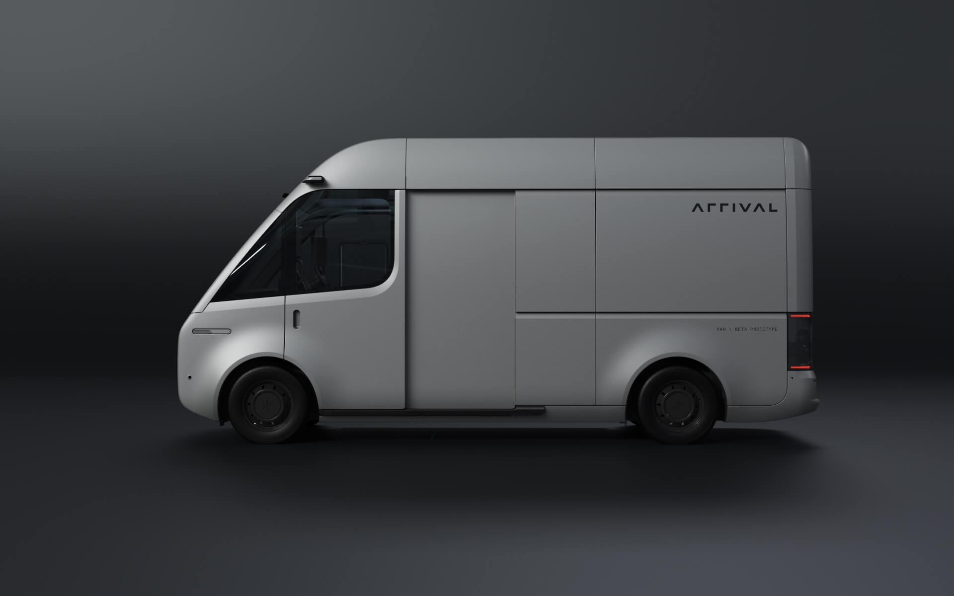 Arrival представляет новый улучшенный дизайн электрического фургона