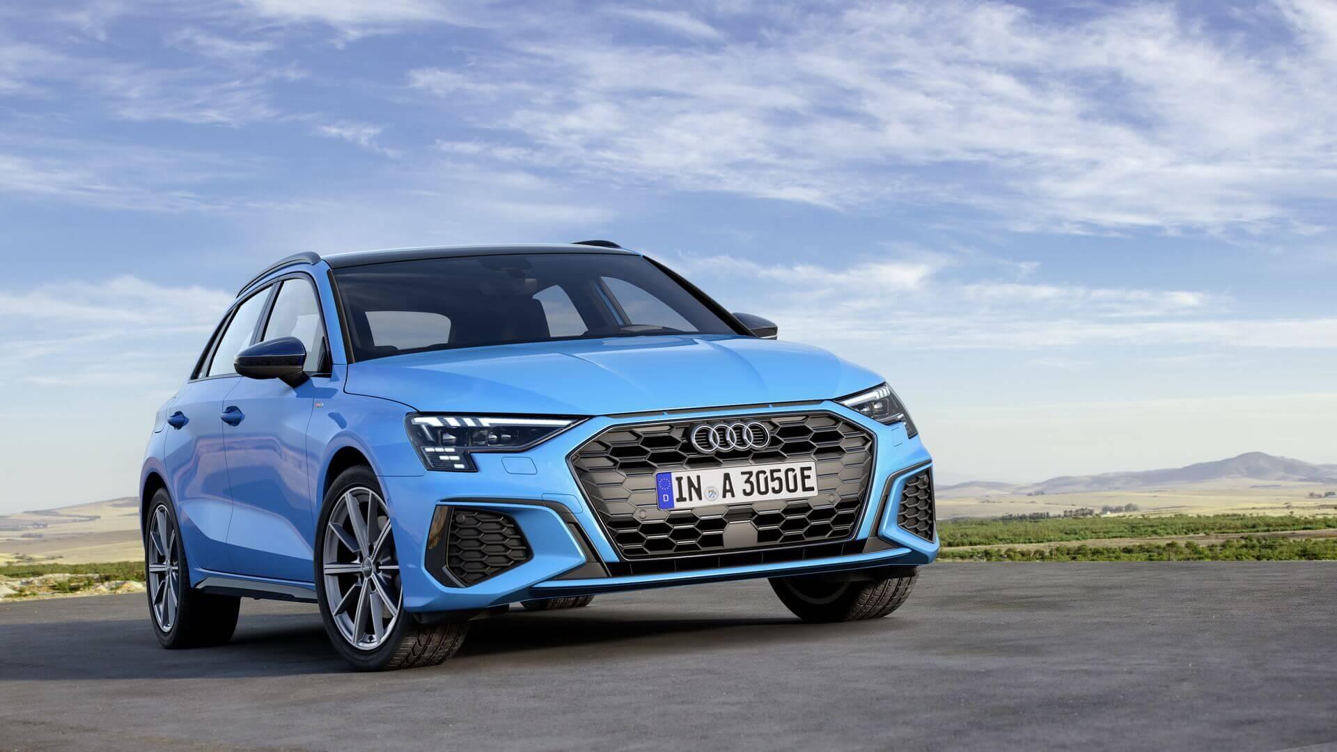 Audi выпускает на рынок новый плагин-гибридный хэтчбек