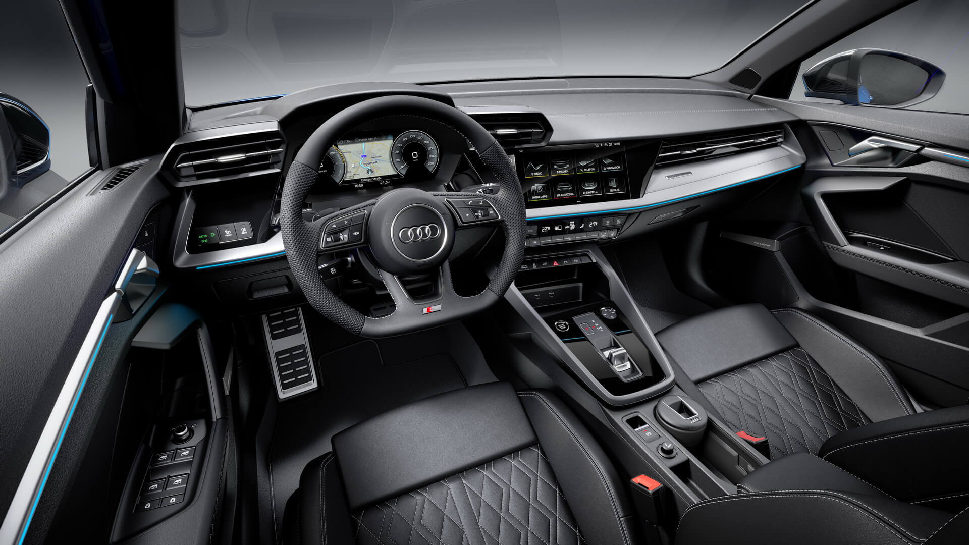 Интерьер Audi A3 Sportback 40 TFSI e