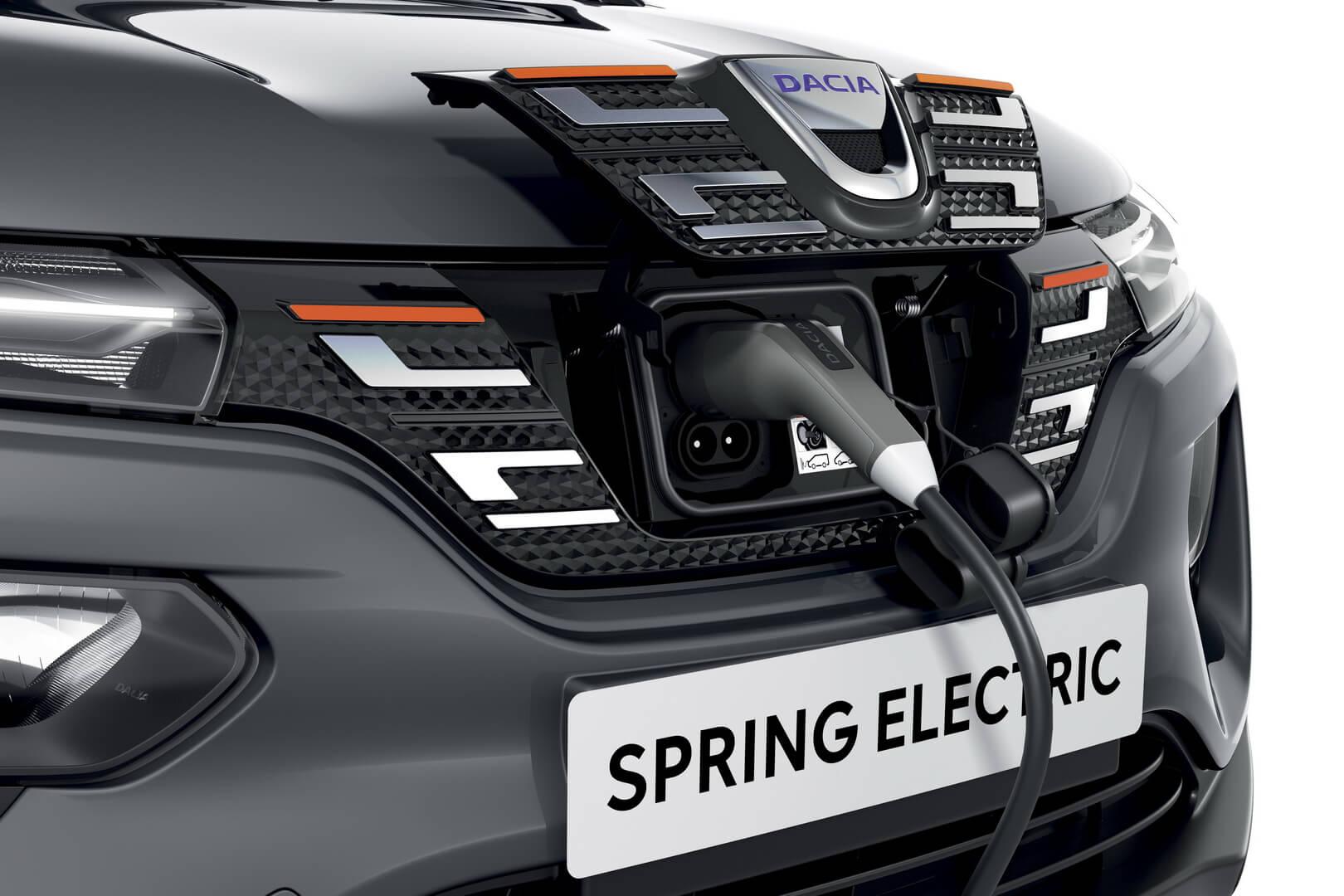 Зарядный порт Dacia Spring Electric