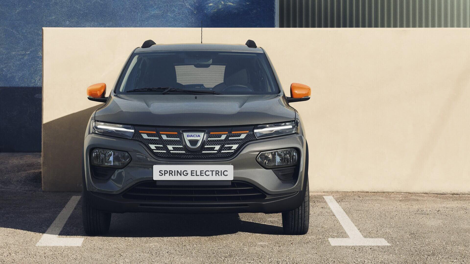 Передняя часть Dacia Spring Electric