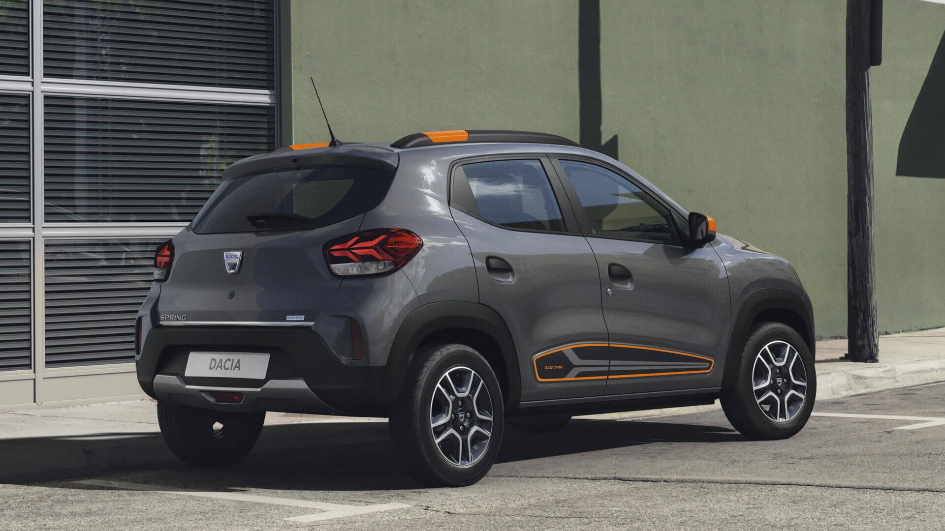 Dacia Spring Electric обеспечивает запас хода в 225 км