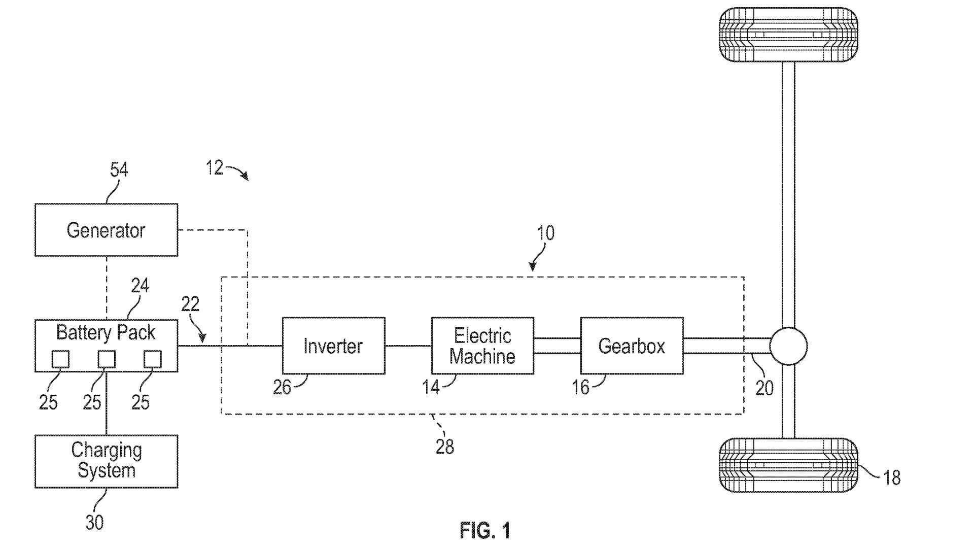 Ford патентует для электрического пикапа F-150 расширитель диапазона
