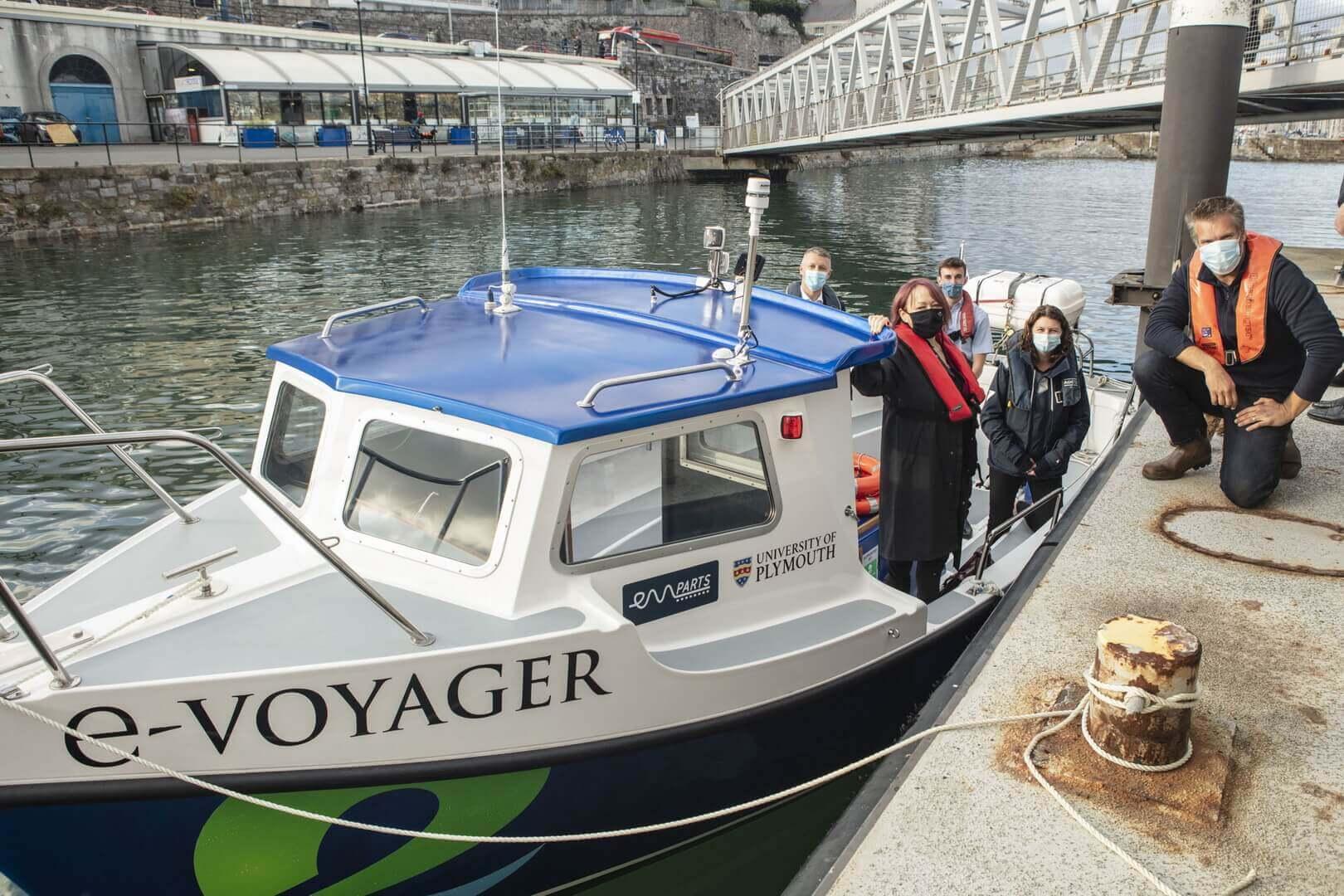 В Великобритании топливную лодку перепрофилировали в электрическую