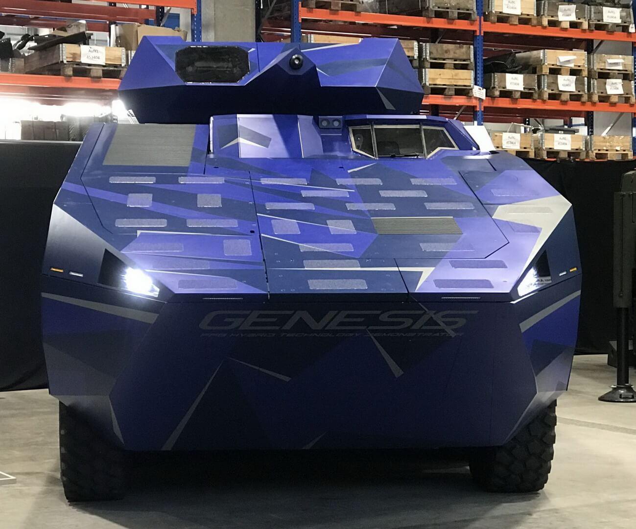 В Германии представили гибридный БМП с пробегом 150 км в полностью электрическом режиме