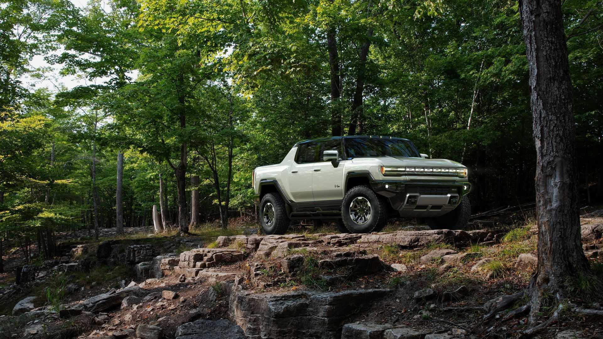 Фотография экоавто Пикап GMC Hummer EV² - фото 12