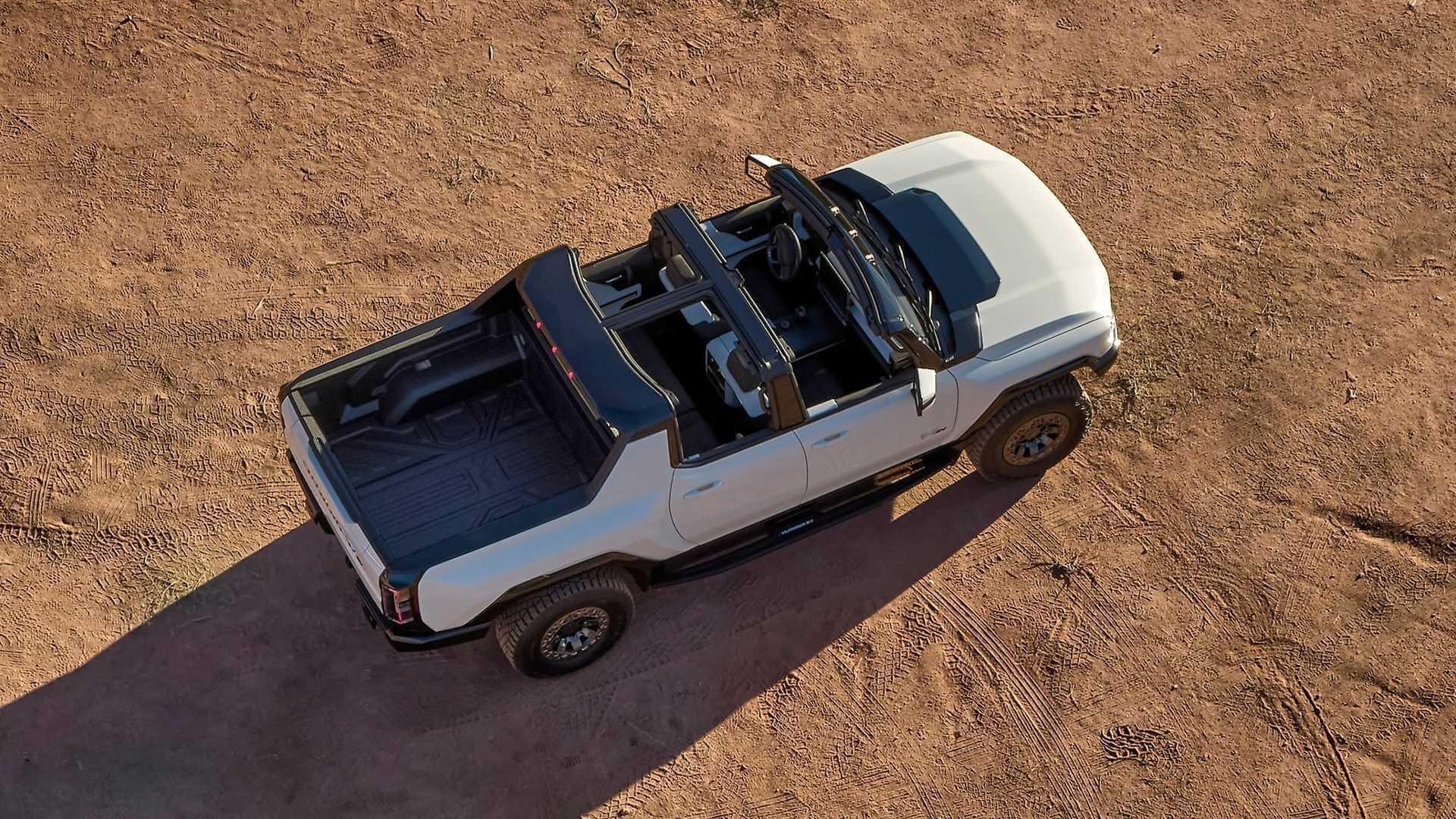 Фотография экоавто Пикап GMC Hummer EV² - фото 8