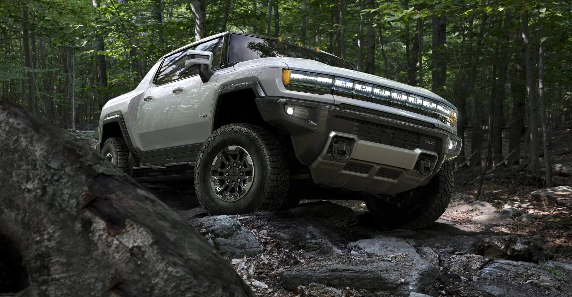 Фотография экоавто Пикап GMC Hummer EV² - фото 34