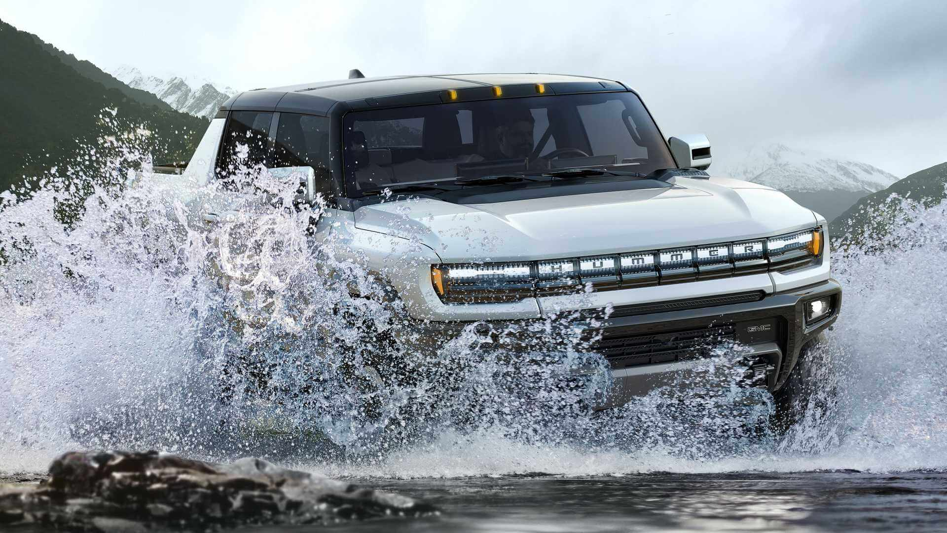Фотография экоавто Пикап GMC Hummer EV² - фото 18