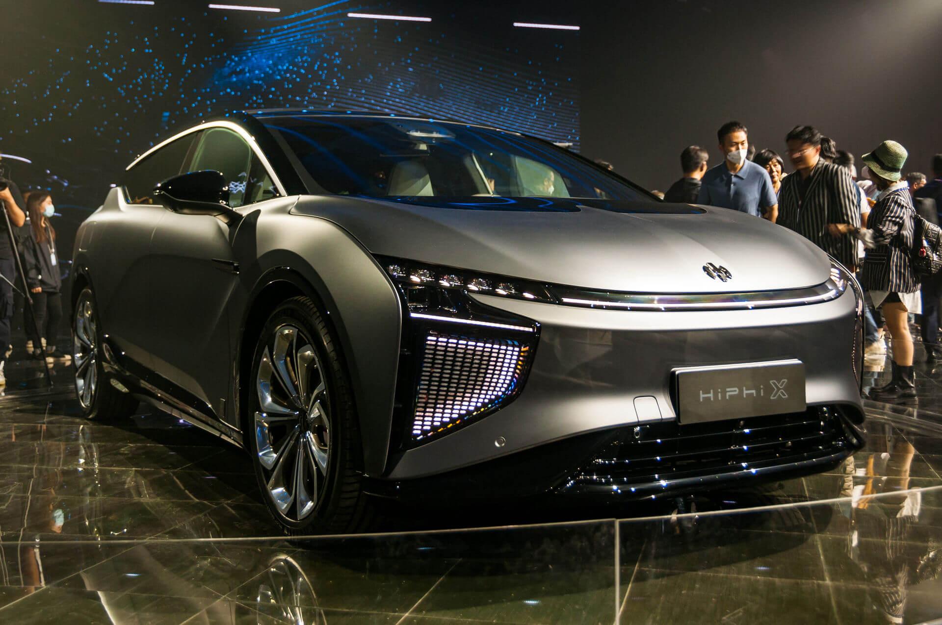 HiPhi X — самый умный итехнологичный электромобиль