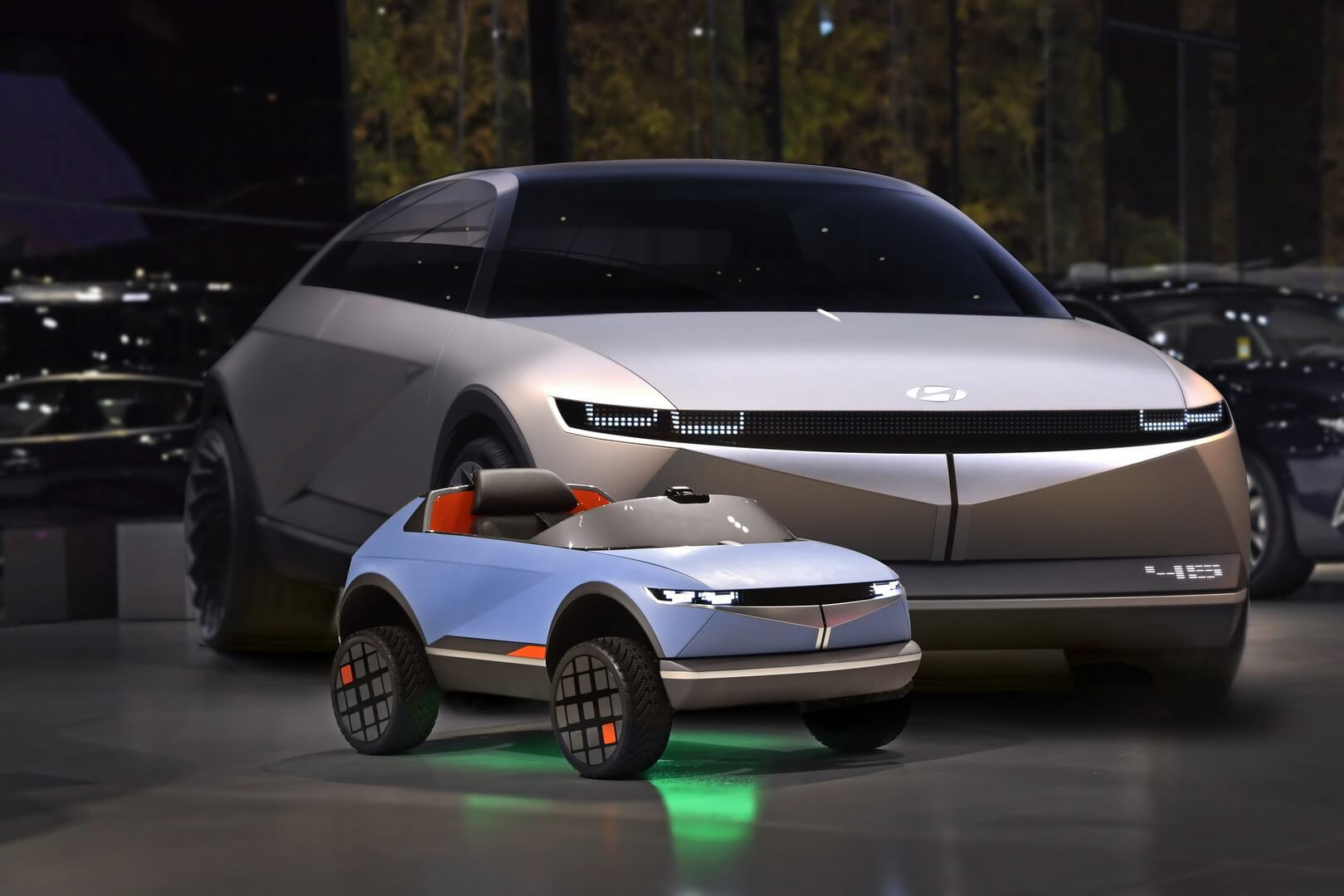 Мини-электромобиль Hyundai на основе концепции «45»