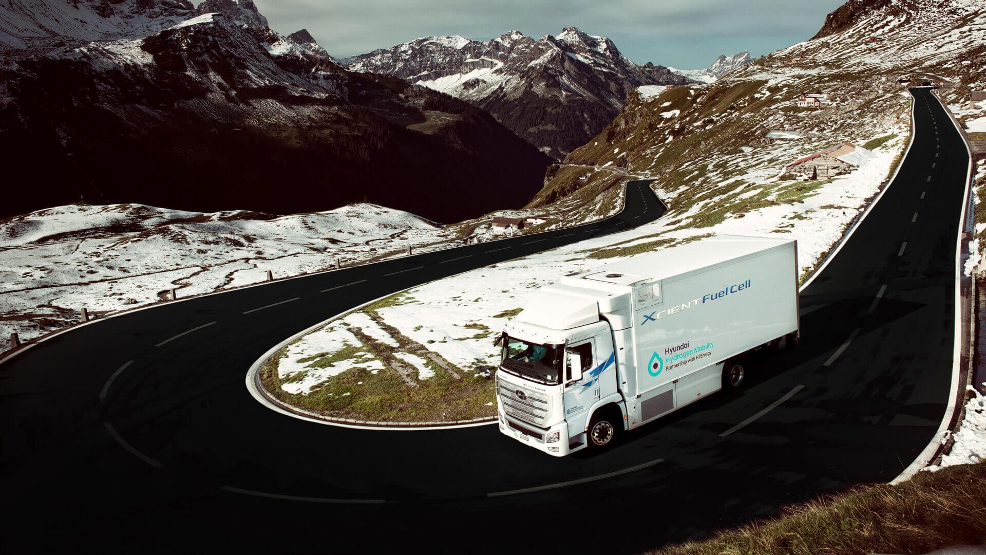 В рамках своего плана расширения производства Hyundai планирует поставить 1600 коммерческих грузовиков на топливных элементах к 2025 году