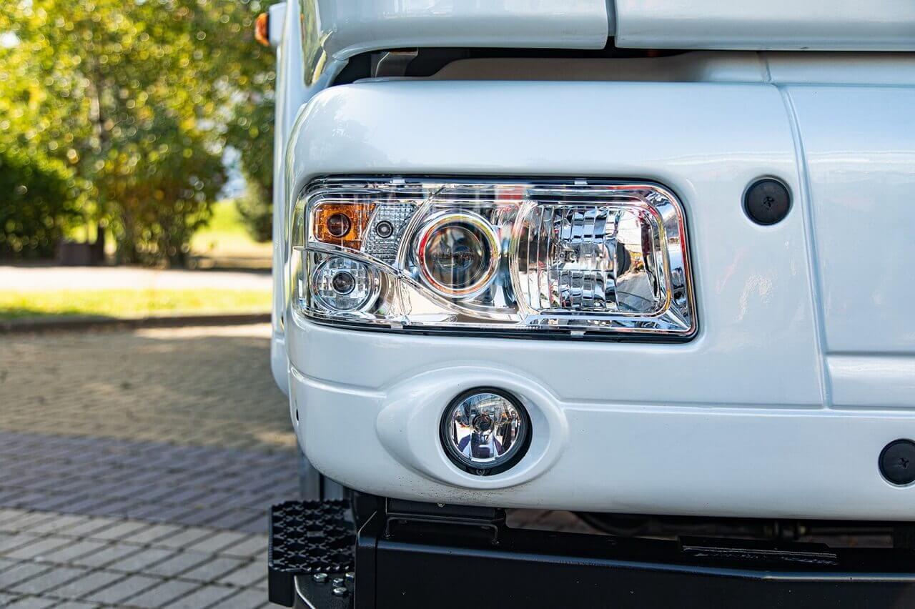 Полностью электрический грузовик МАЗ-4381Е0