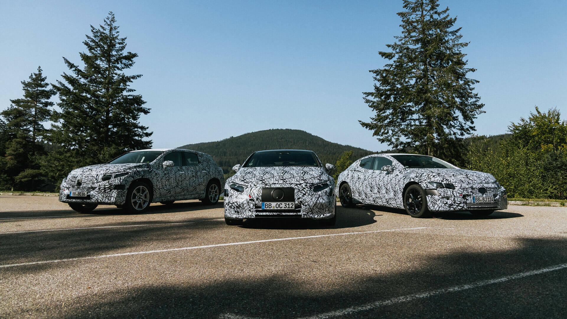 Mercedes-Benz представляет новые роскошные электромобили EQS, EQS SUV и EQE