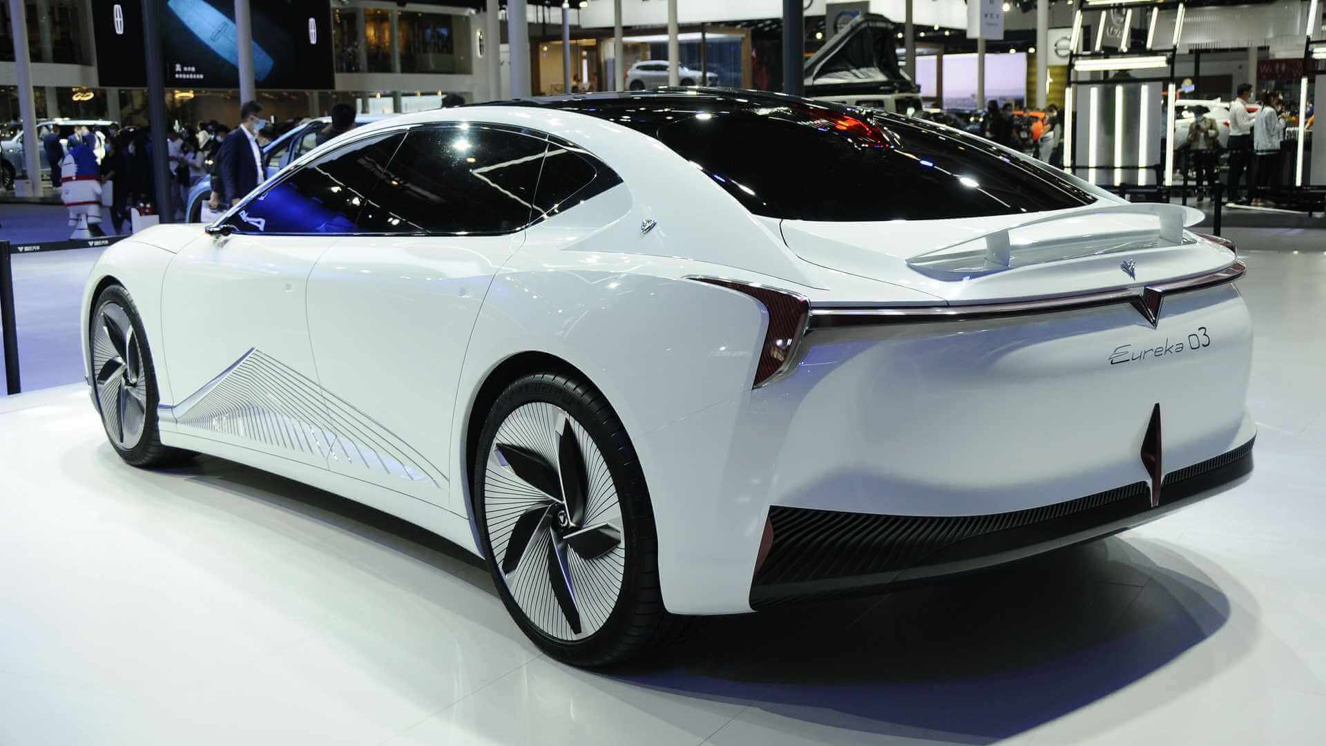 Концепт электромобиля Neta Eureka 03