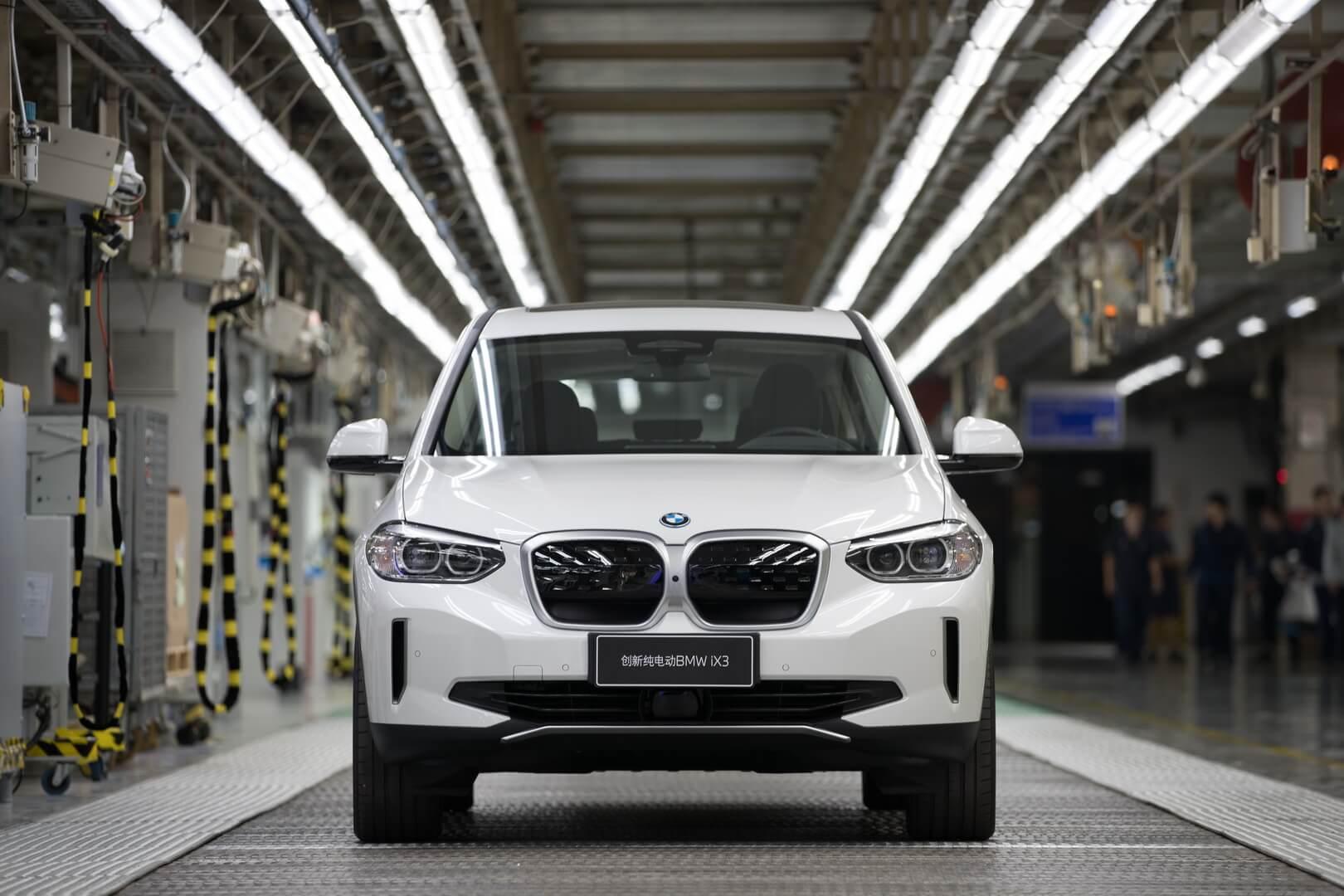 Начало производства полностью электрического BMW iX3 в Китае
