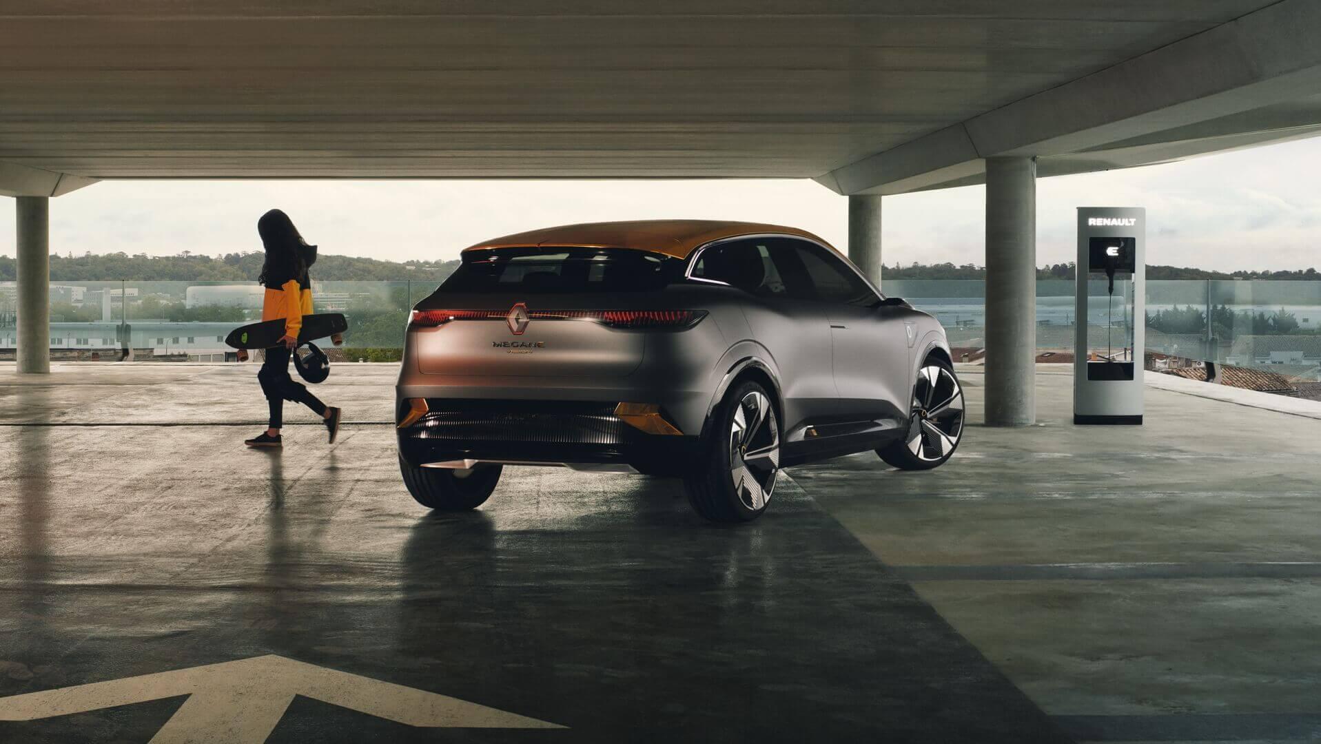 Концепт электрического хэтчбека Renault Megane eVision