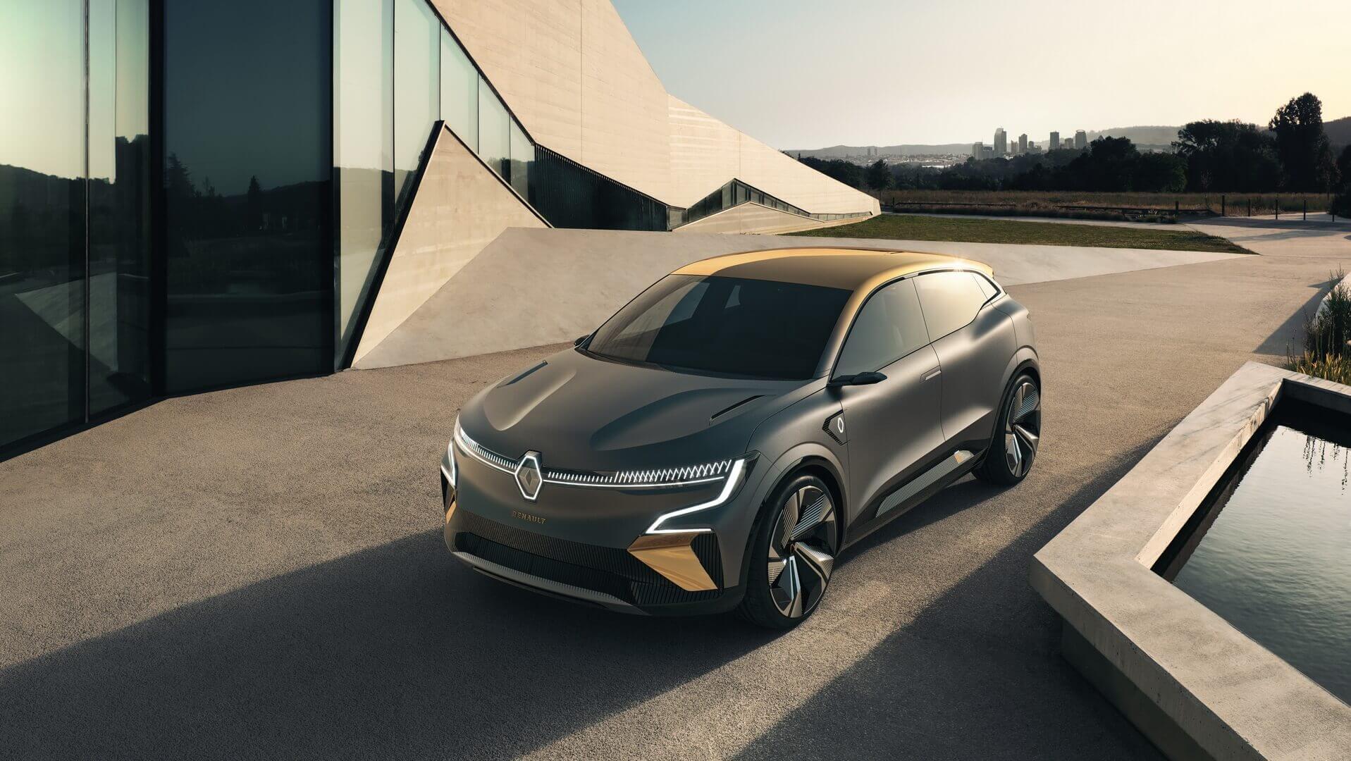Renault рассекретил электрический хэтчбек Megane eVision