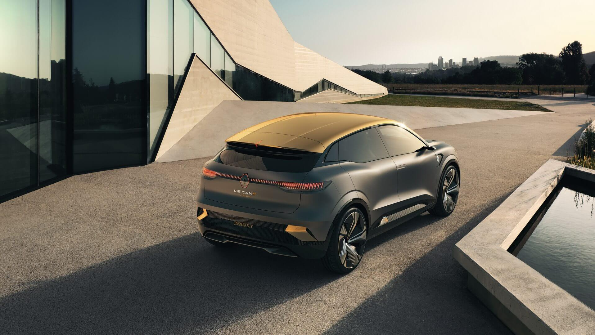 Концепт Renault Megane eVision на базе платформы CMF-EV