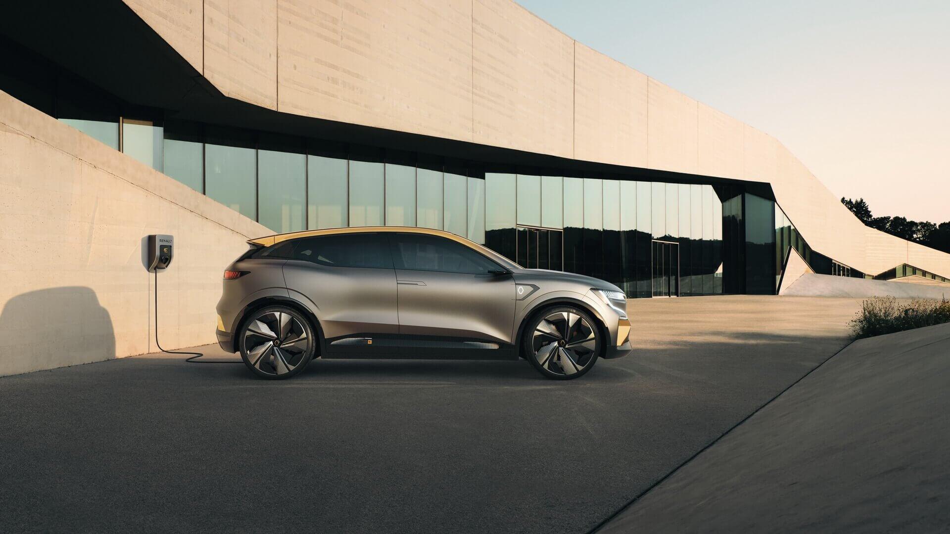Renault открывает новую главу в электрификации: встречайте электрический концепт Megane eVision