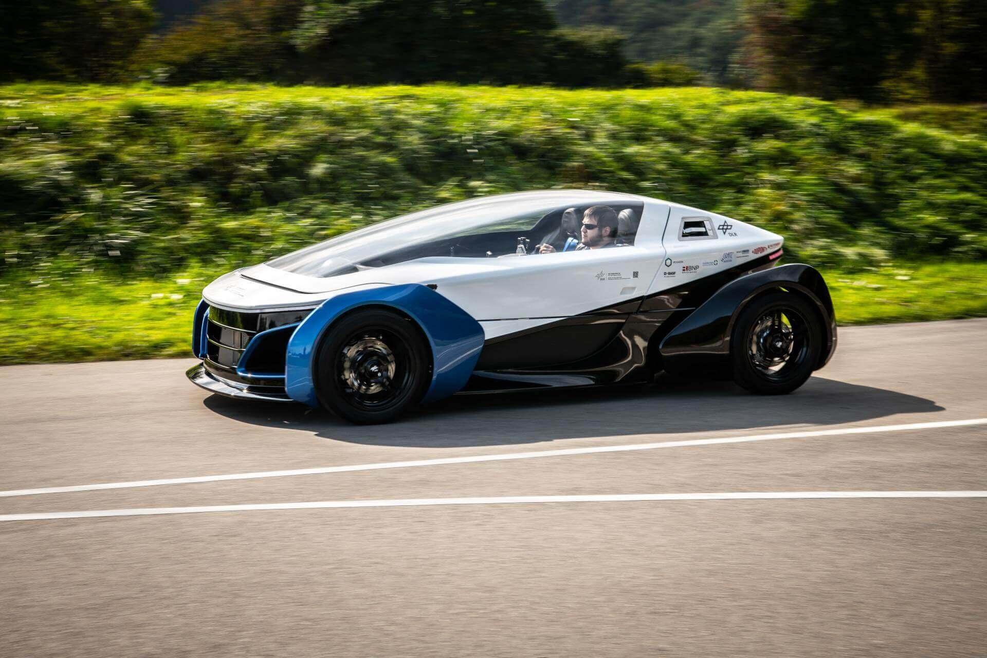 Немецкий аэрокосмический центр представил водородный автомобиль SLRV