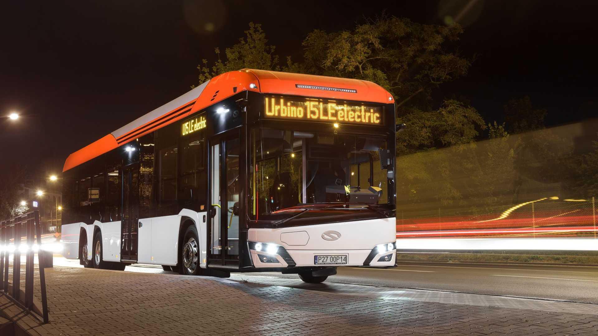 Электрический автобус Solaris Urbino 15 LE Electric