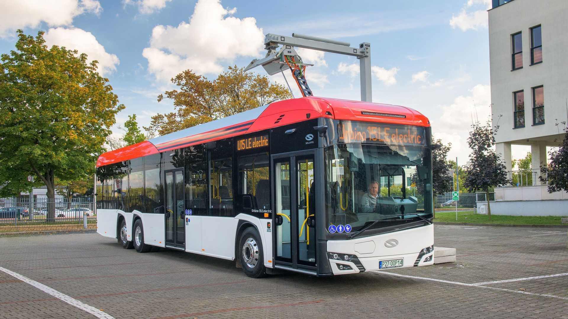 Solaris представил первую модель электробуса для междугороднего использования