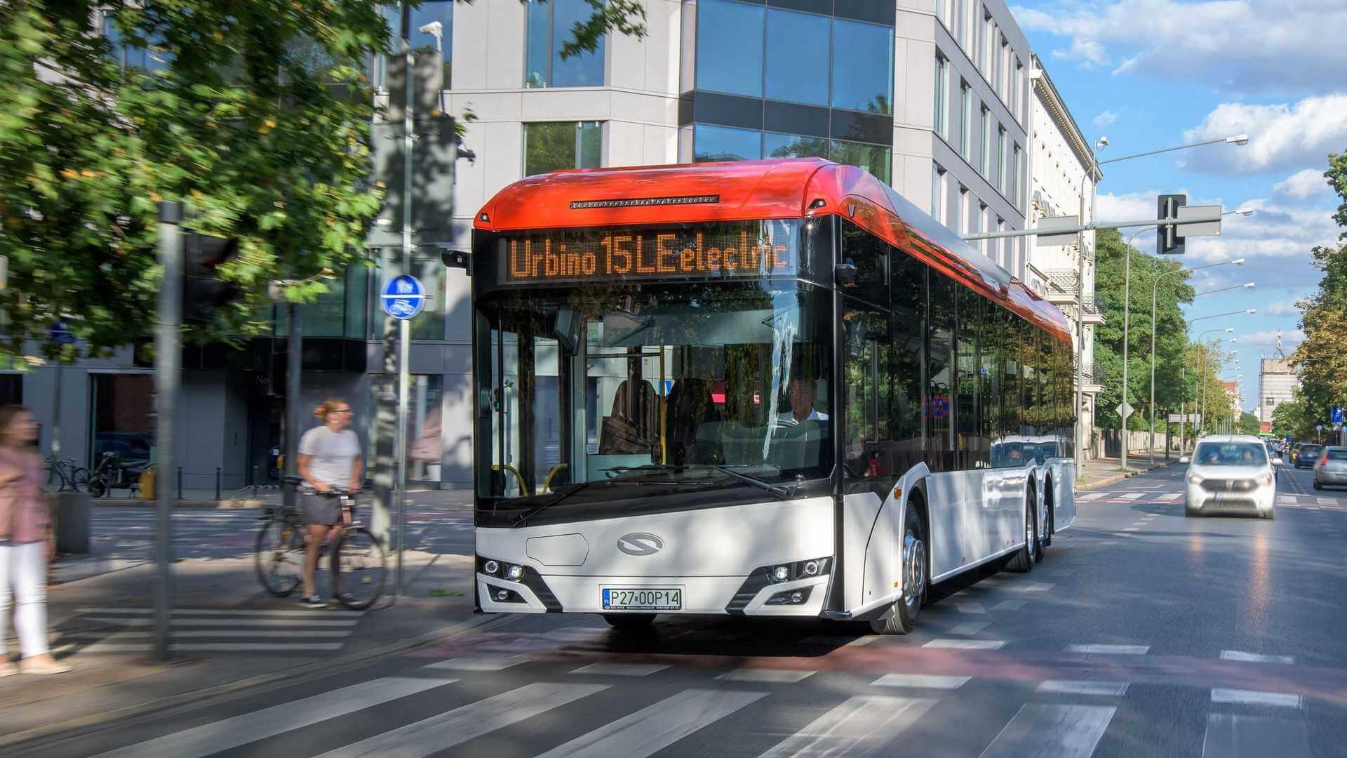 Solaris представляет первый междугородний электрический автобус