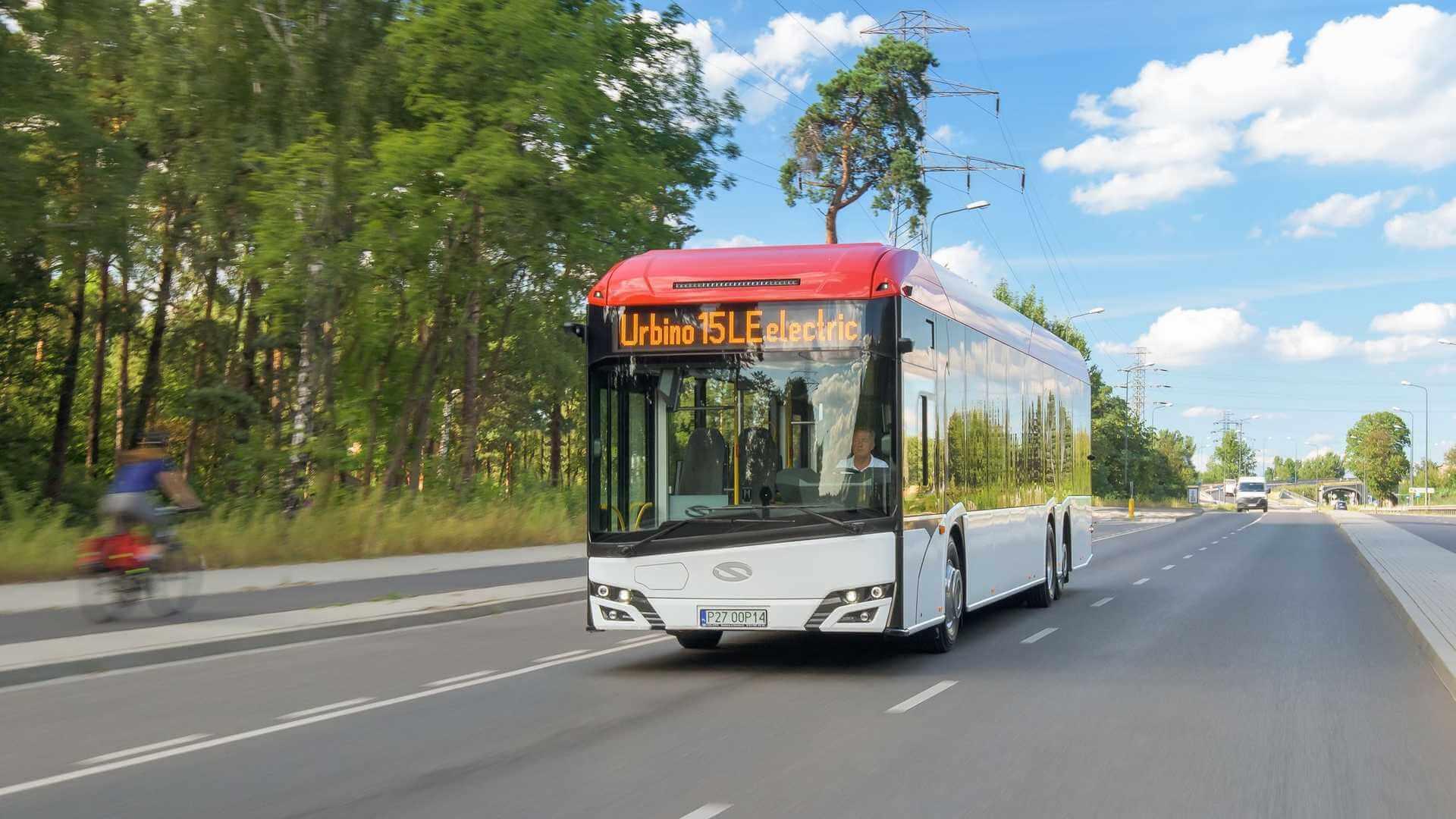 Solaris представляет новый 15-метровый электрический автобус