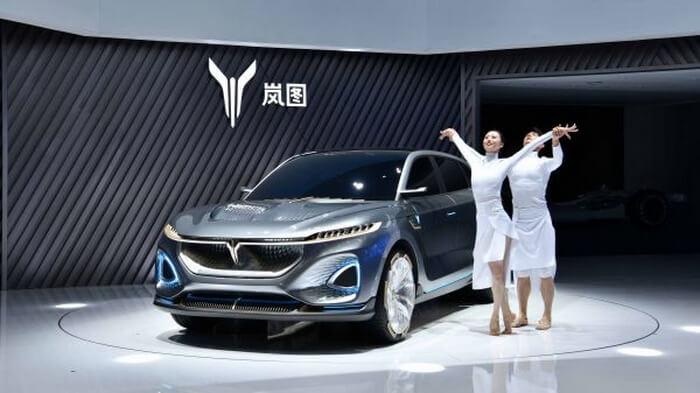 ВПекине представлен концепт электрического кроссовера Voyah iFree