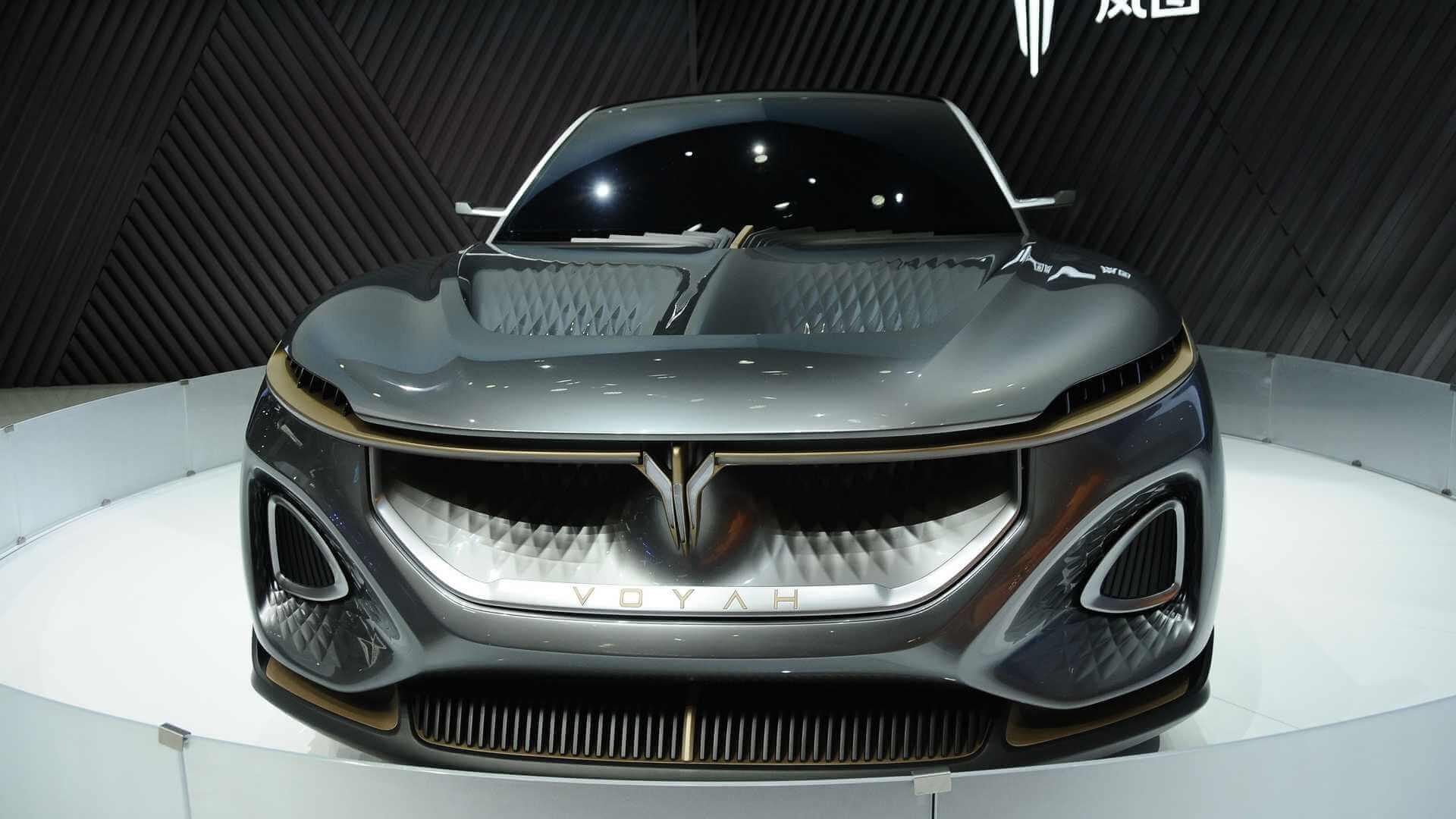 Voyah запустит первую серийную модель премиального электромобиля в 2021 году