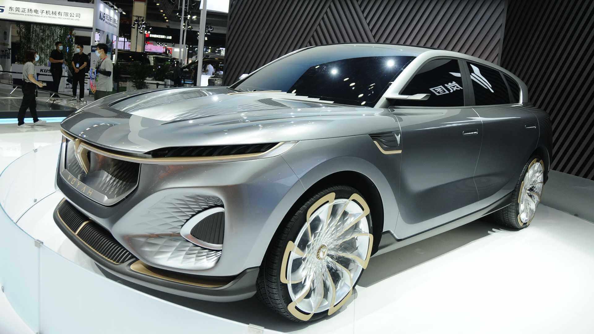 Voyah— новый бренд премиальных электромобилей Dongfeng Motor Corporation