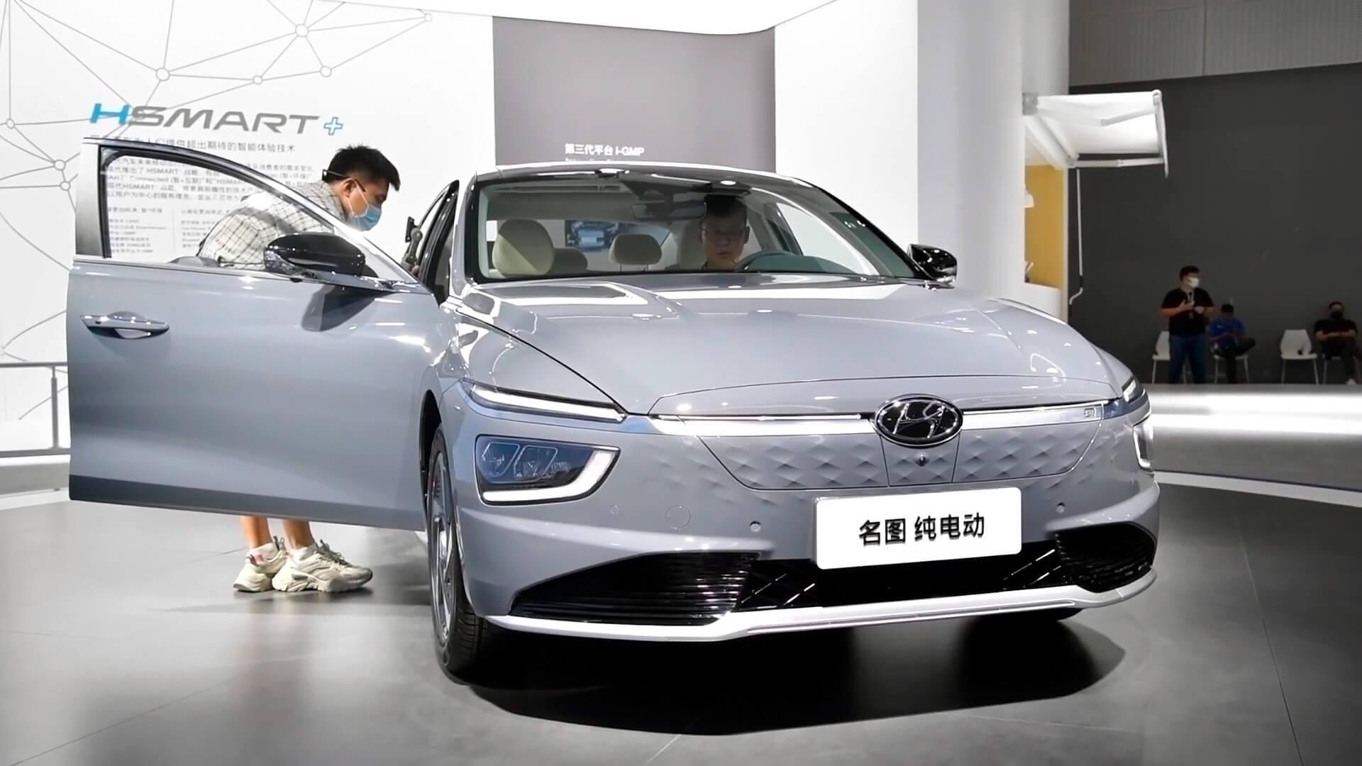 Электрический седан Hyundai Mistra EV с запасом хода 520 км