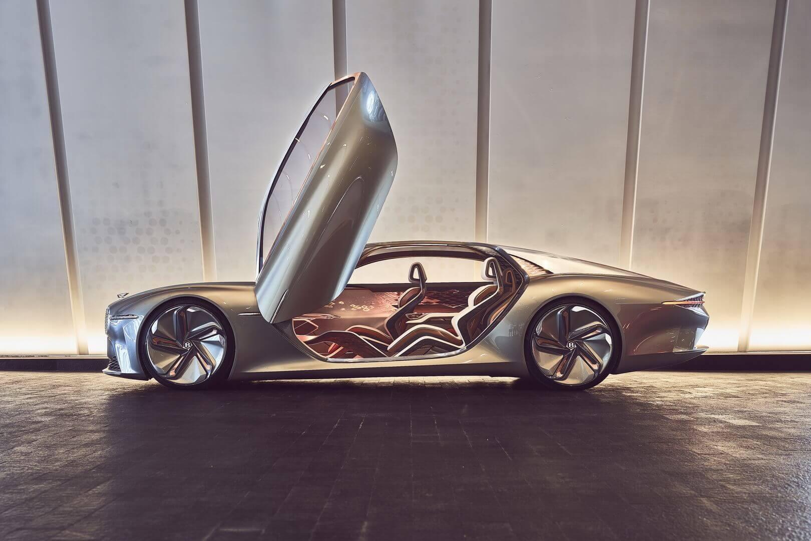 Bentley представила свой полностью электрический концепт-кар EXP 100 GT в честь 100-летия компании