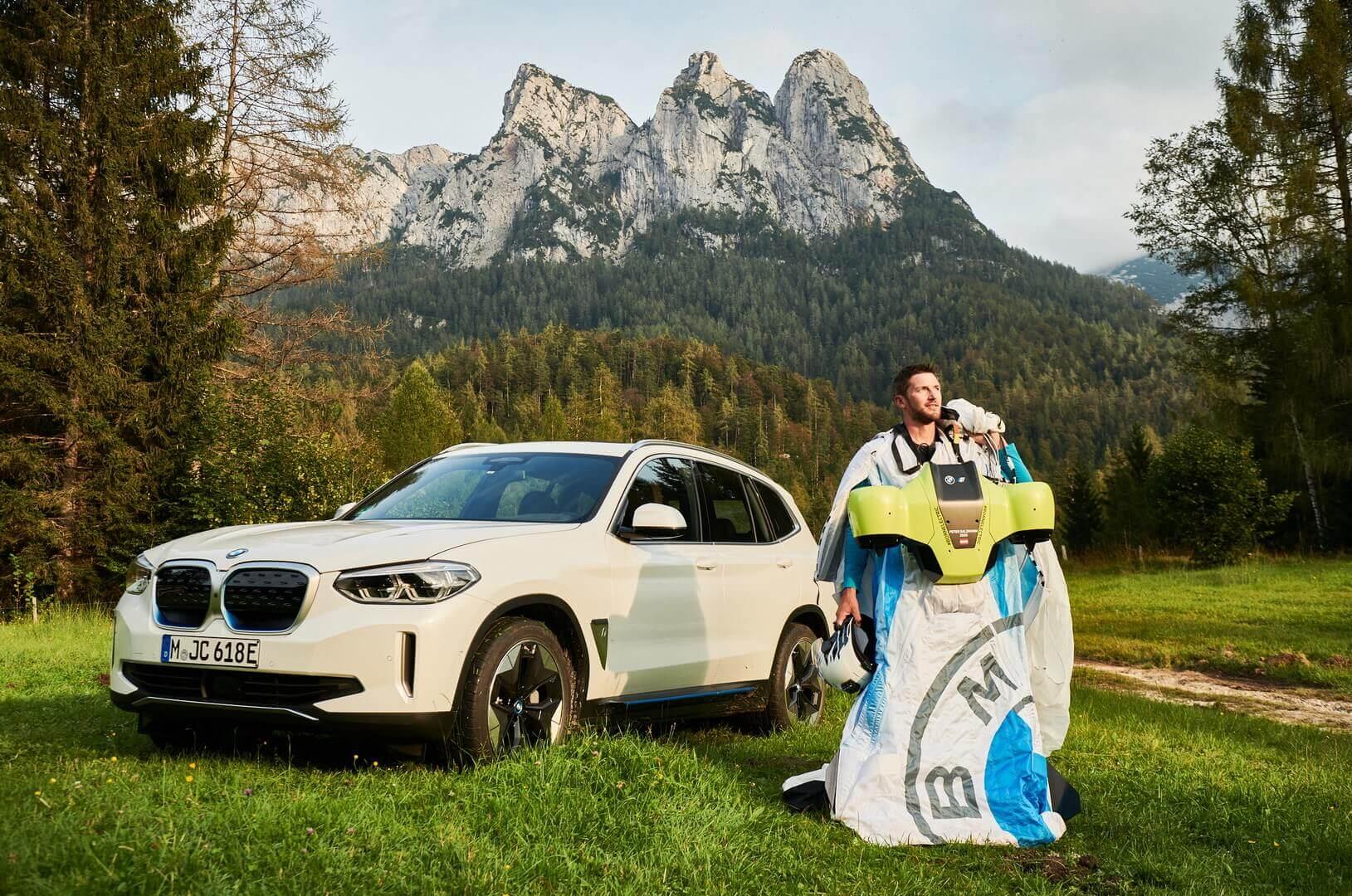 BMW представил новый дизайн вингсьюта с электрическим приводом