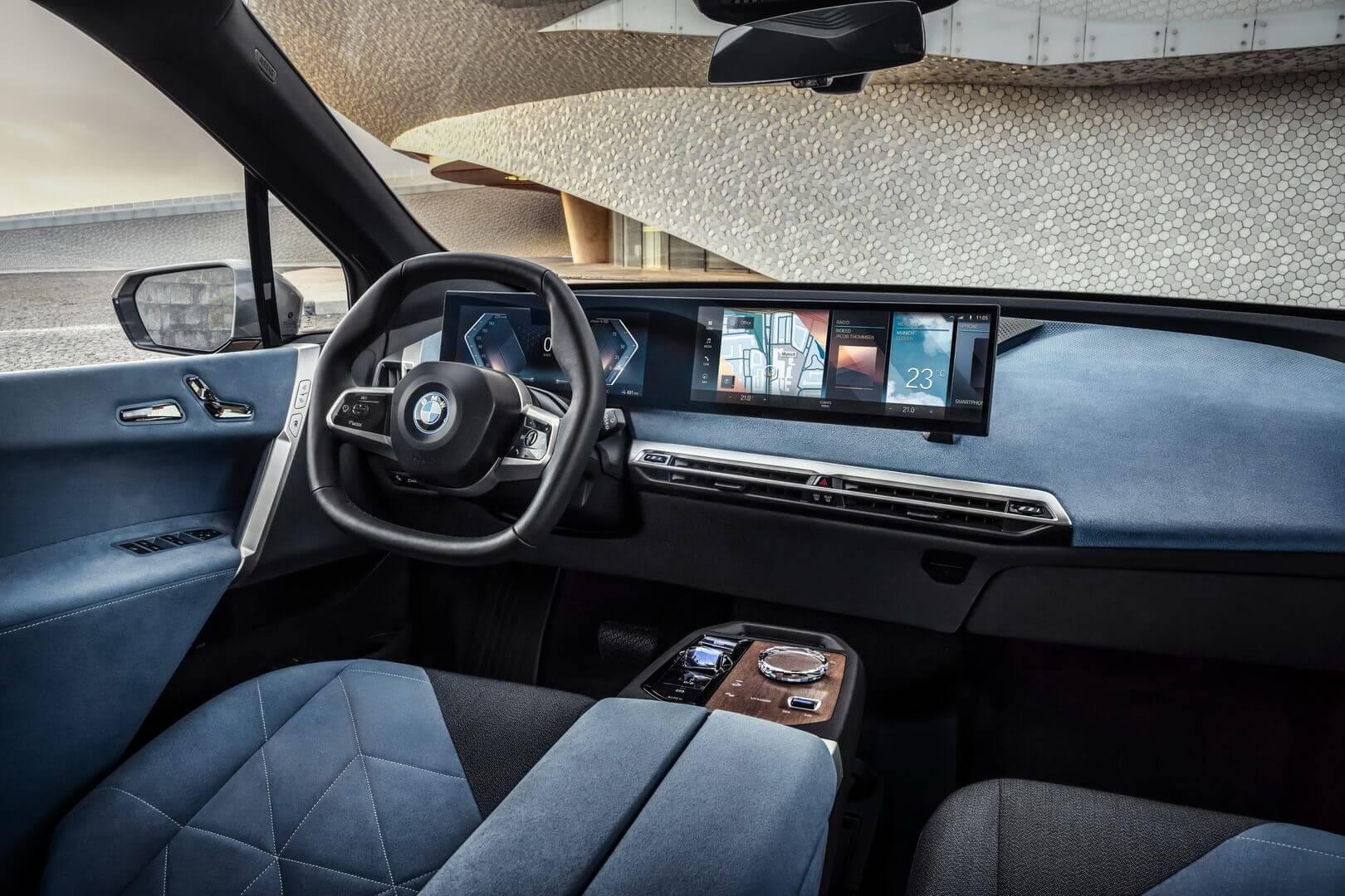 Фотография экоавто BMW iX - фото 64